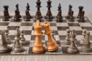 Шахматы король и королева